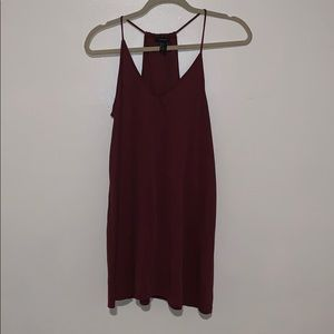 Forever 21 maroon dress size s